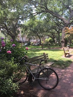 Monterey Square in Savannah
